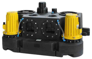 Abwasserhebeanlage Kompaktboy Doppel 1,1 D 400V
