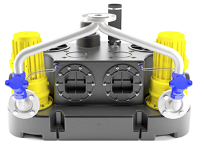 Abwasserhebeanlage Oase Kompaktboy SE 71.1 D Doppel 400V