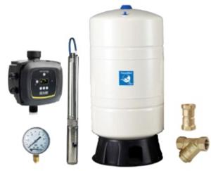 Unterwasser-Hauswasserwerk Oase UFA-4060M 80v frequenzgeregelt
