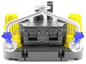 Abwasserhebeanlage Oase Kompaktboy SE 71.3 D Doppel 400V