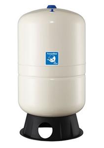 Membrandruckgefäß 80L vertikal PressureWave mit Füße, weiß