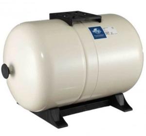 Membrandruckgefäß 80L horizontal PressureWave mit Füße, weiß