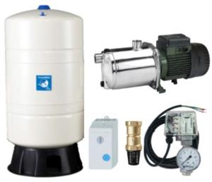 Oberwasser-Hauswasserwerk Oase E vertikal O-3060 ET M100v