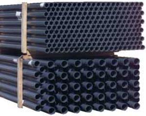 PVC Rohr DA50 PN16- 3m Stange gemufft dunkelgrau (4027263)