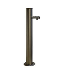 Wasserfranz Behördenmodell rund mit Selbstschlussarmatur - D.12,9 cm