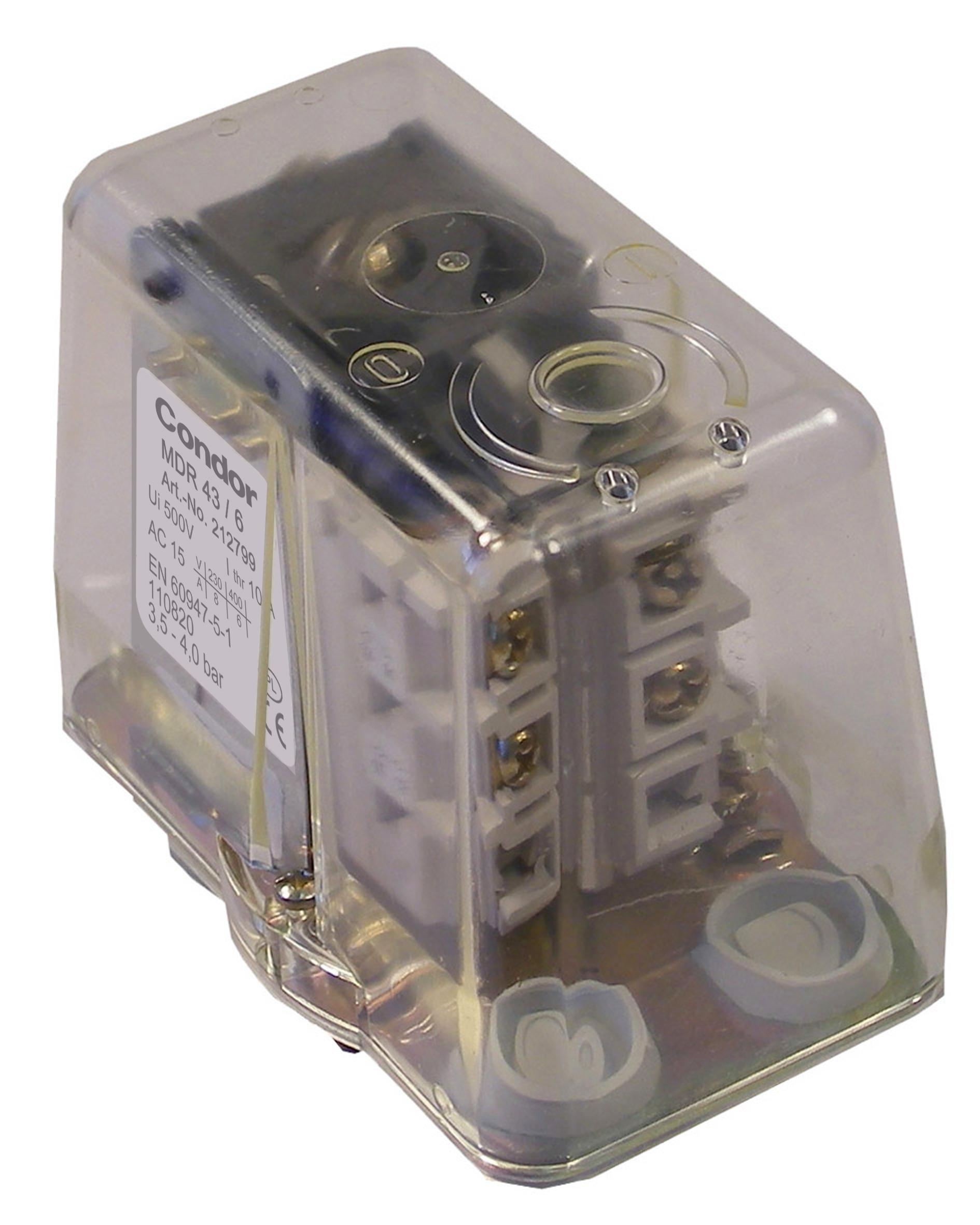 Druckschalter MDR 43/3  R1/2