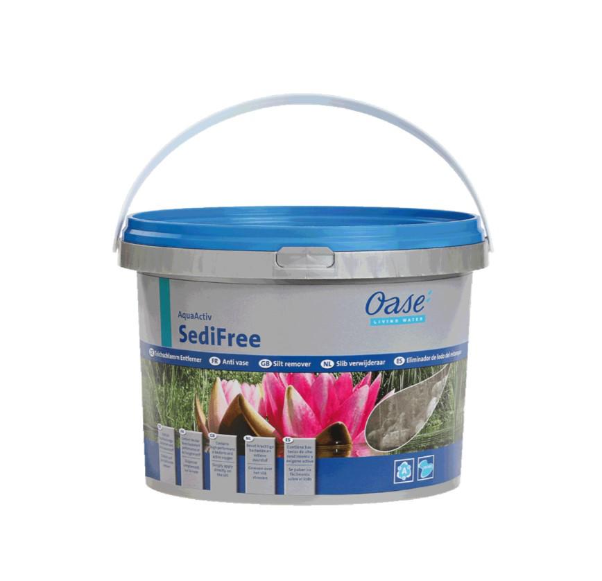 Sedifree schlammentferner 5 l 50561 pumpenoase for Oase living water ersatzteile