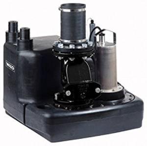 Kleinhebeanlage Wilo-DrainLift M 1/8 RV Einzelanlage 400V (2528941)
