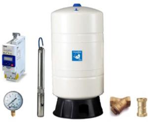 Unterwasser-Hauswasserwerk Oase UFE-4060 T80v frequenzgeregelt