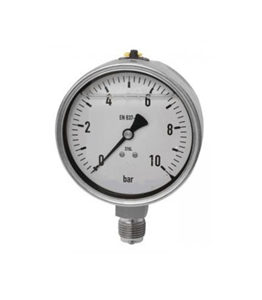 Manometer 63° 0 - 10 bar Anschluss 1/4
