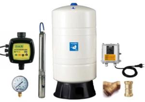 Unterwasser-Hauswasserwerk Oase UF-4085 M80v frequenzgeregelt