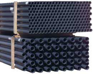 Rohr PN10 / schwarz - DA 50 5lfm (402705)
