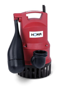 HOMA Bully CH140 - Tauchpumpe für aggressives Schmutzwasser