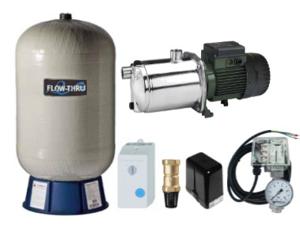 Oberwasser-Hauswasserwerk Oase FlowThru O-3060 ET M150v