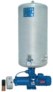 Oberwasser-Hauswasserwerk Oase O - CA 5 A mit Windkessel