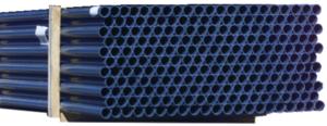 PVC Rohr DA50 PN16- 5m Stange gemufft dunkelgrau (402726)