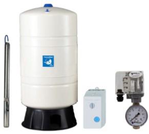 Unterwasser-Hauswasserwerk Oase U-4060 M 100v mit Membrandruckgefäß