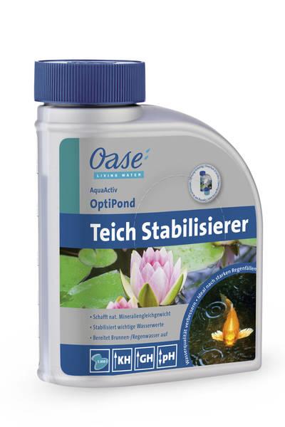 Aquaactiv optipond 500ml 43149 pumpenoase for Oase living water ersatzteile