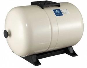 Membrandruckgefäß 100L horizontal PressureWave mit Füße, weiß