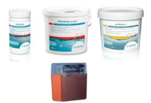 Schwimmbad-Starterset - Wasserpflege mit Chlor und pH-Regulierung