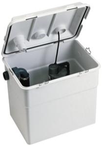 Kleinhebeanlage Novabox 30/300.01 (Pumpe mit Nirowelle)