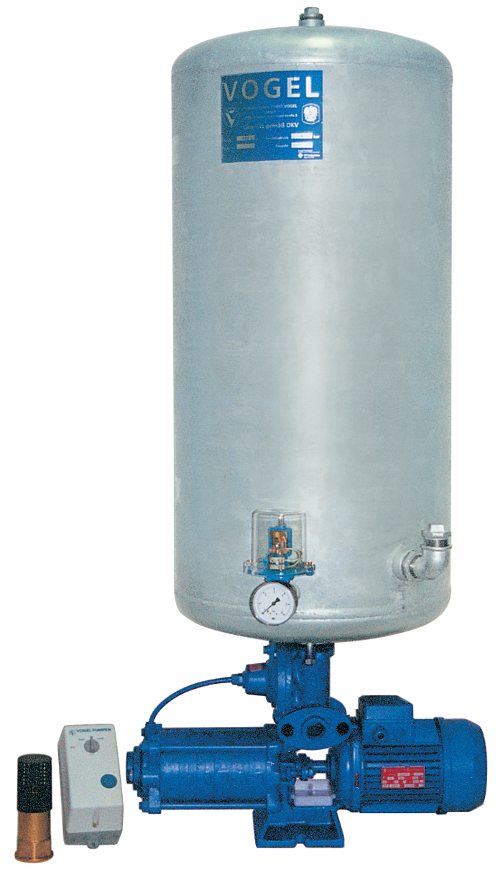 Oberwasser-Hauswasserwerk Oase O - CA 6 A mit Windkessel