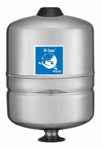 Membrandruckgefäß (Niro) Inox 18L PressureWave